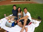 Roberto, Stefy, and Me on Herty Field