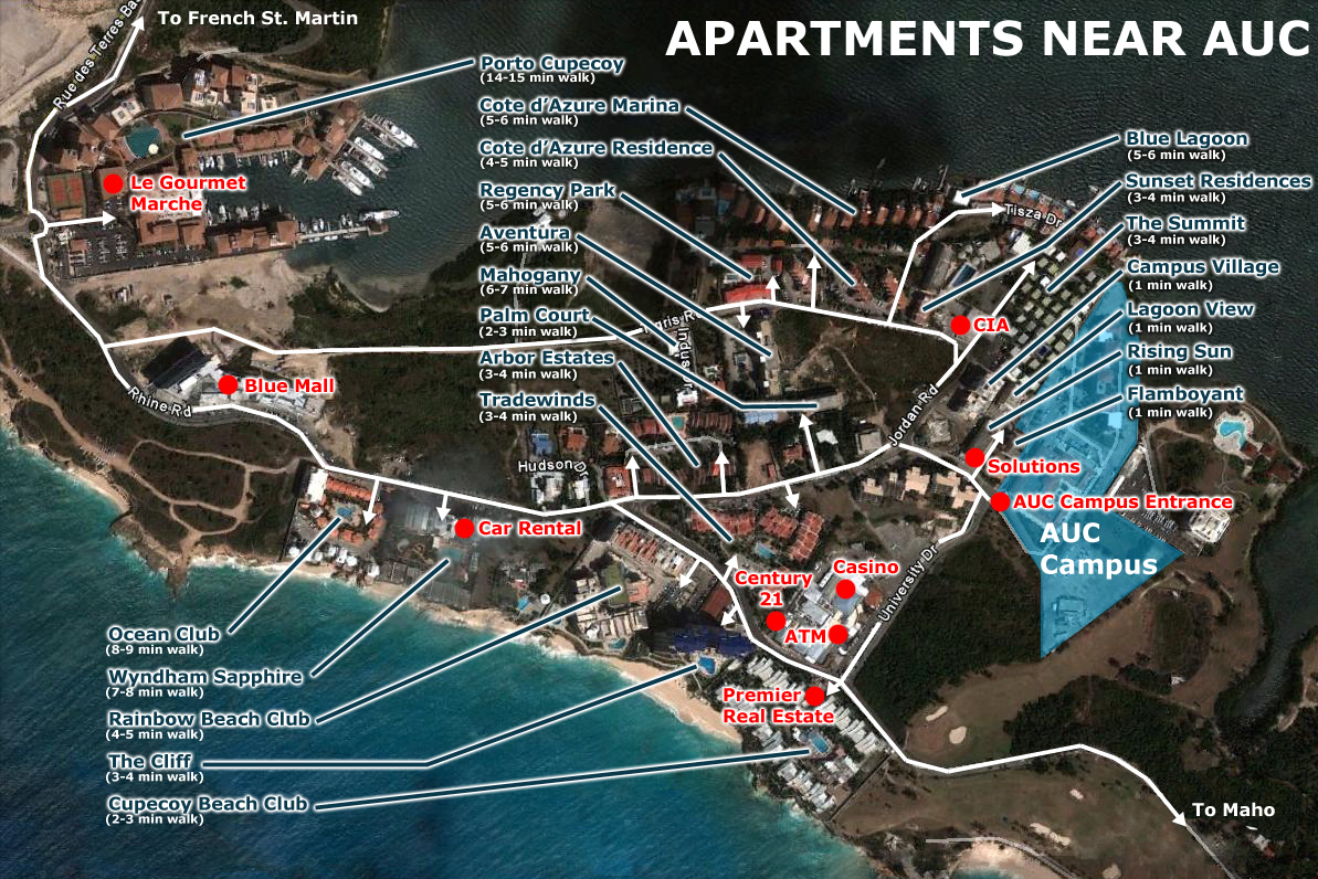 Apartments Near Auc 171 Diary Of A Caribbean Med Student
