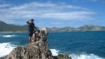 On the summit of the third island