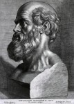 """Hippocrates, the """"Father of Western Medicine"""", who established professionalism and ethics in medicine in his famous oath."""