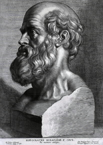 "Hippocrates, the ""Father of Western Medicine"", who established professionalism and ethics in medicine in his famous oath."