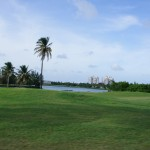 Mullet Bay Golf Course is still being used today