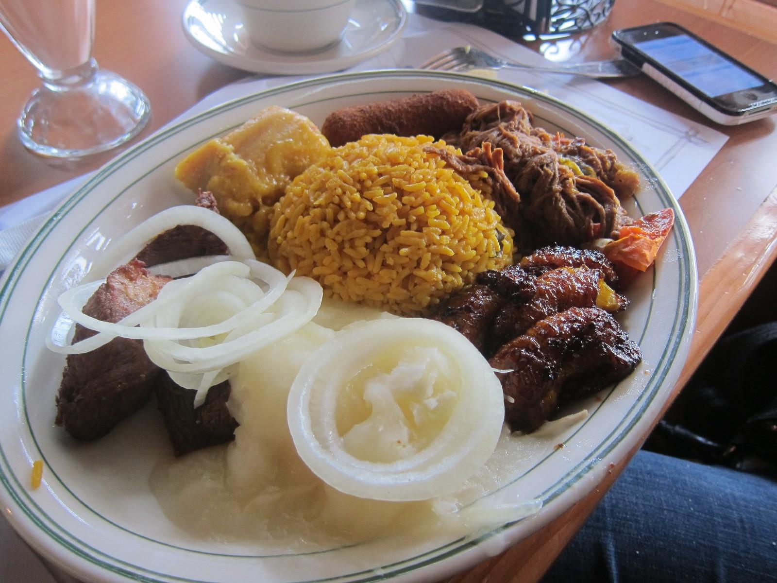 Of la carreta restaurant menu la carreta cuban restaurant for Afghan cuisine sugar land menu