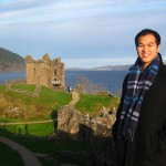 Urquhart Castle, on the shores of the legendary Loch Ness