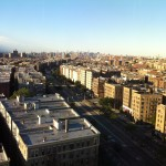View of the Bronx from the Family Medicine floor at Bronx-Lebanon Hospital