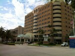 Mt. Sinai Hospital in Miami Beach, where I do rotations.