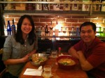 Irene and I at Momi Ramen in Miami