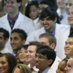 Students inducted at White Coat Ceremony