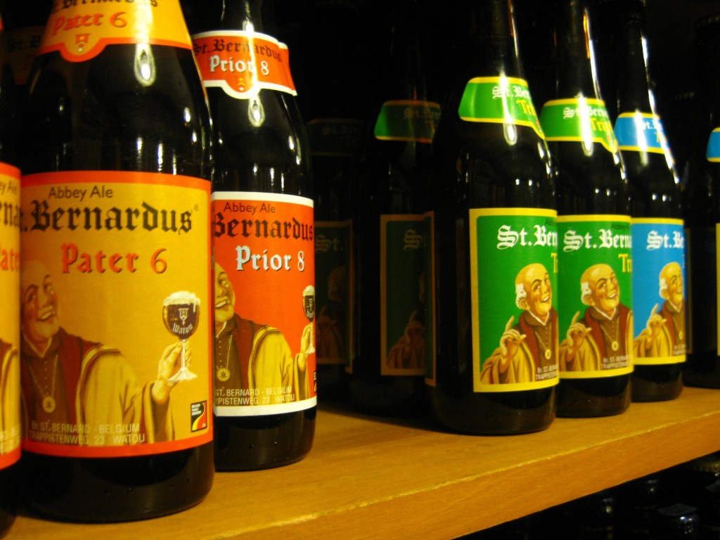 I'm not sure if St. Bernardus would approve of this Ale...