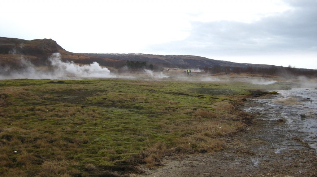 The steamy fields of Geysir