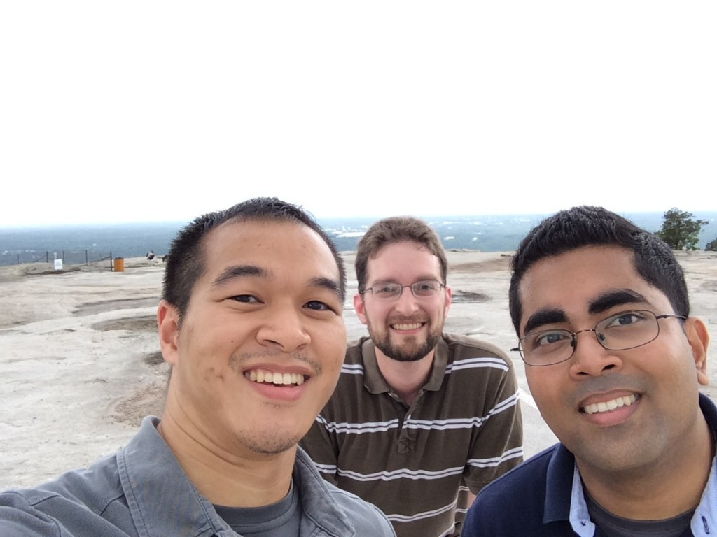 Hiked to the top of Stone Mountain!