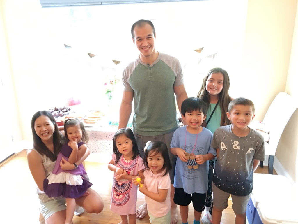 Me and all my nieces and nephews.